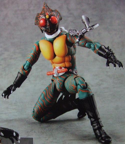 S H Figuarts Kamen Rider Amazon Preview Large Images Gunjap Rider Preview Kamen