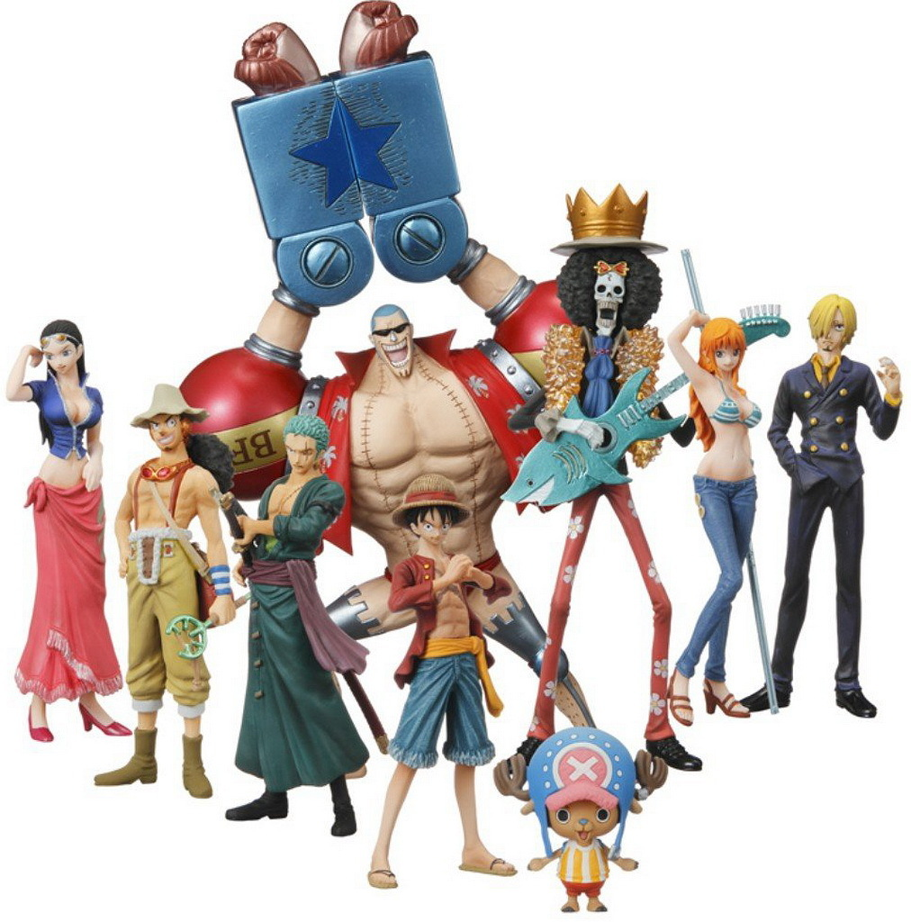 One Piece (Shokugan) New World, Large Image, Infos (Click To Enlarge View)