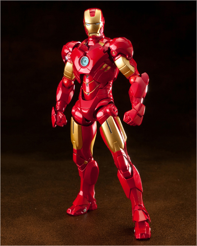 Revoltech Sci-Fi Series No.025 EX Iron Man Mark 4, New