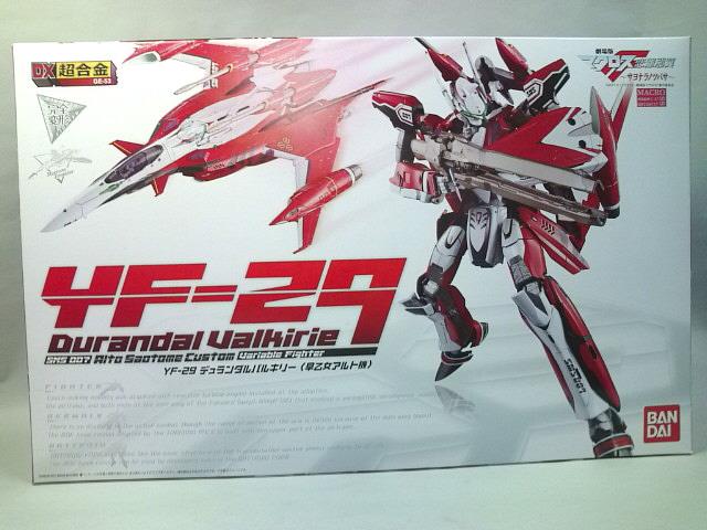FULL Review DX Chogokin YF Durandal Valkyrie Alto Saotome - Custom graphic for alto
