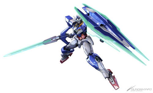 Mobile Suit Gundam Extreme Vs.: 00 Qan[T] & Crossbone X2 Kai added. Many Images & Info | GUNJAP