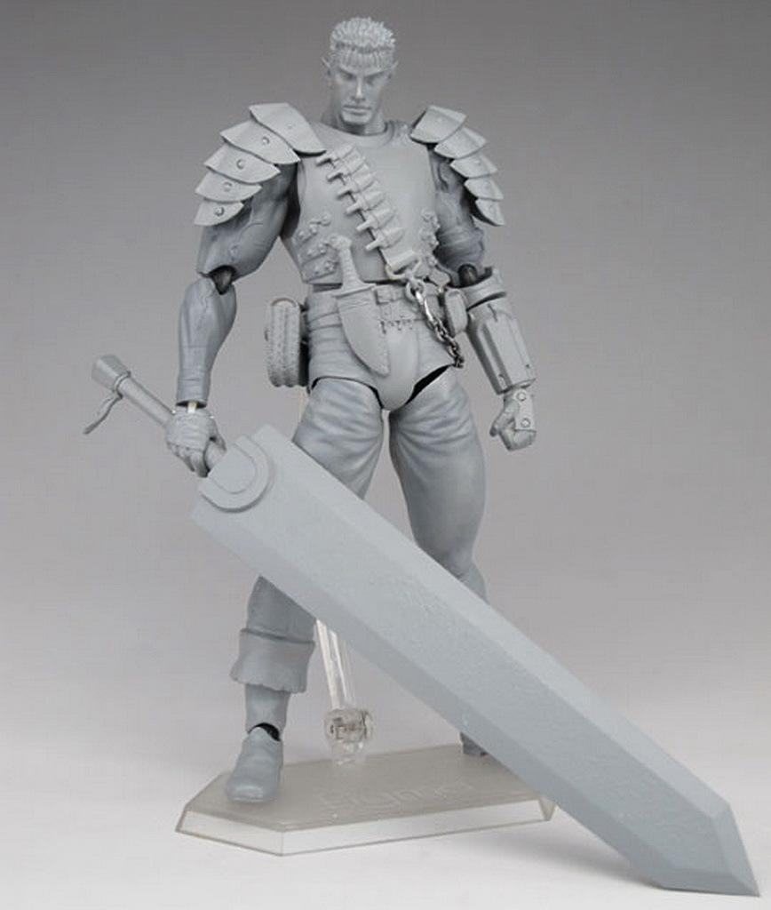 FIGMA 剑风传奇 烙印战士 灰模 清晰大图