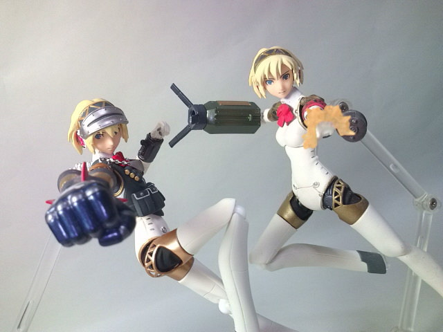 Aigis Figma Action Figure Heavily Equipped Ver Max Factory Persona 3 FES
