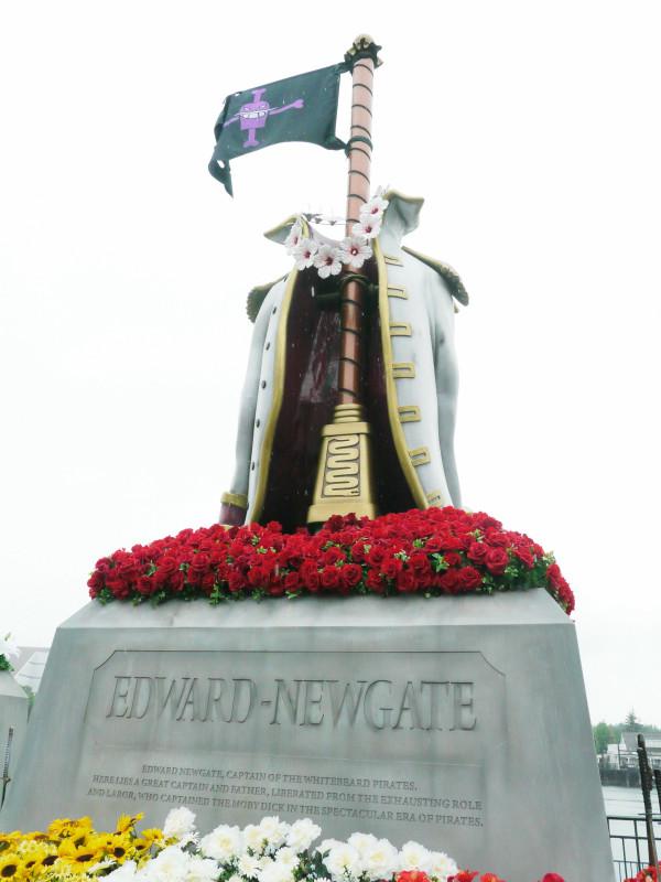 Universal Studios Erects Monuments To Edward Newgate