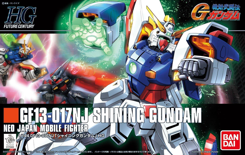 GF13-017NJ Shining Gundam   G Gundam Shining Gundam