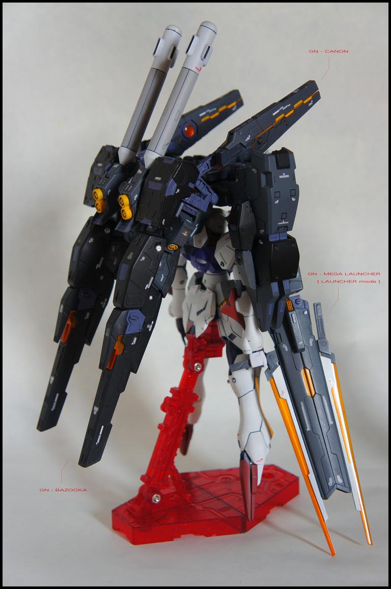 G Project: [Custom HG 1/144] CB-002/GD Raphael Gundam ... |Raphael Gundam Sdgo