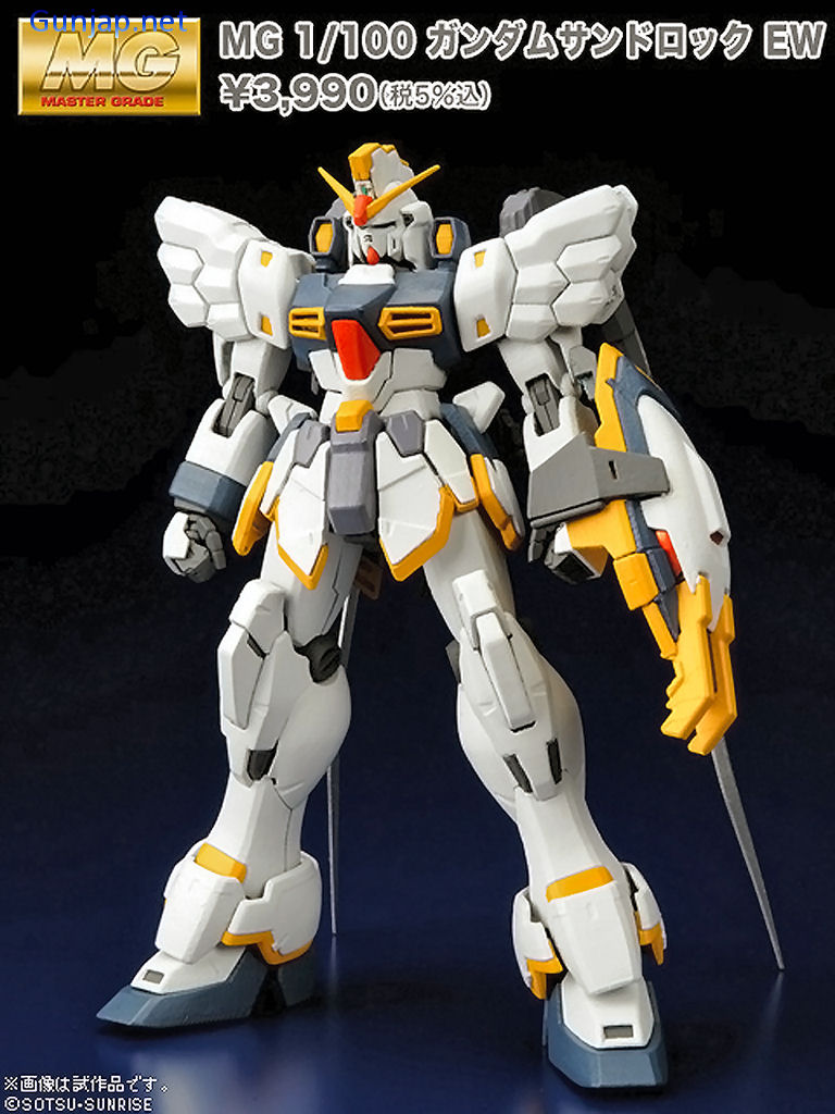 GUNPLA MG Master Grade Endless Waltz 1//100 XXXG-01SR Sandrock Gundam EW Ver