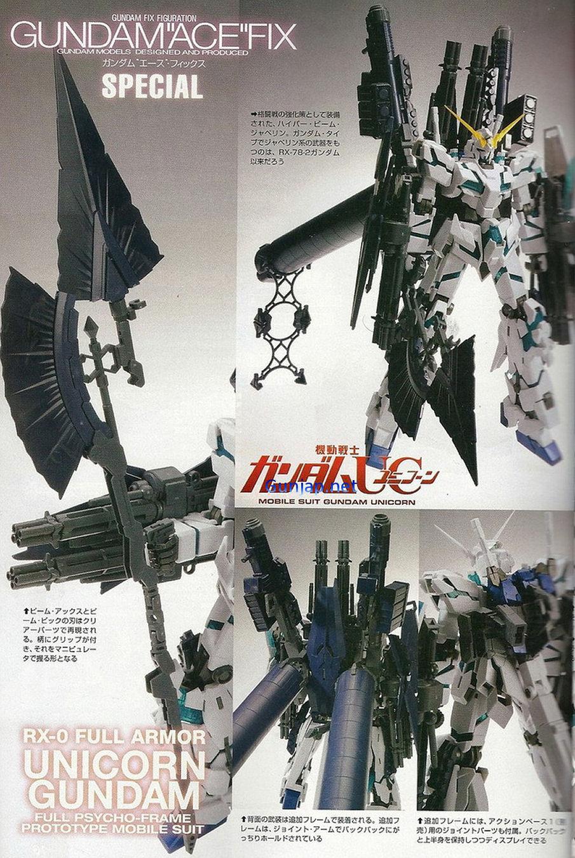 MG 1/100 Full Armor Unicorn Gundam Ver.Ka No.2 NEW Wallpaper Size Scans, Info release/price