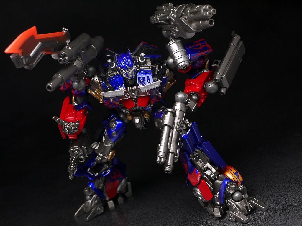 Sci Fi Transformer : Full review revoltech sci fi series no optimus prime
