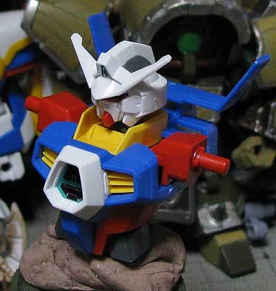 how to make 144 gundam head