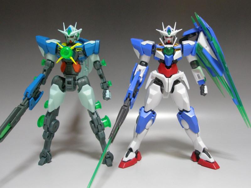 2nd Review: Robot Damashii (Side MS) 00 Qan[T] (Quantum Burst Ver ...