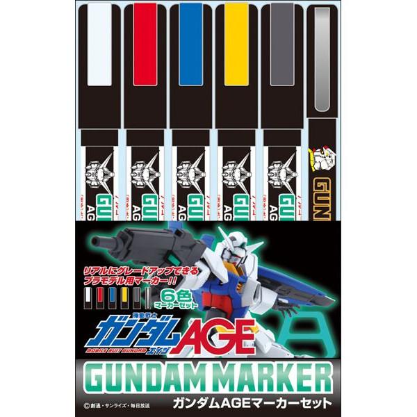 Gundam Marker Set Gundam Age Marker Set