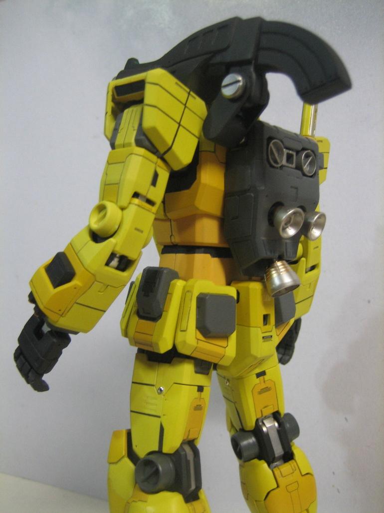 G-Work of The Day: MG 1/100 RX-78-1 Gundam First Unit, BIG ...