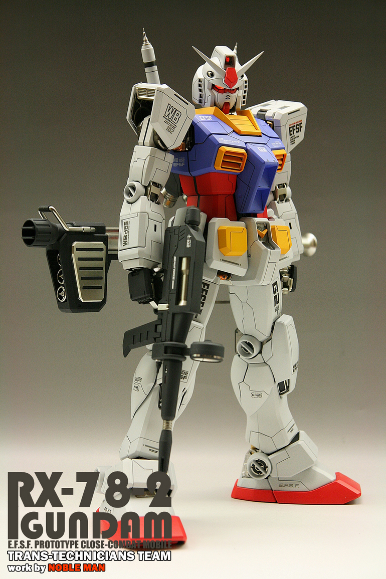 quality design ce56e c5479 G-Work of The Day: PG 1/60 Gundam RX-78-2, Big Size Images ...