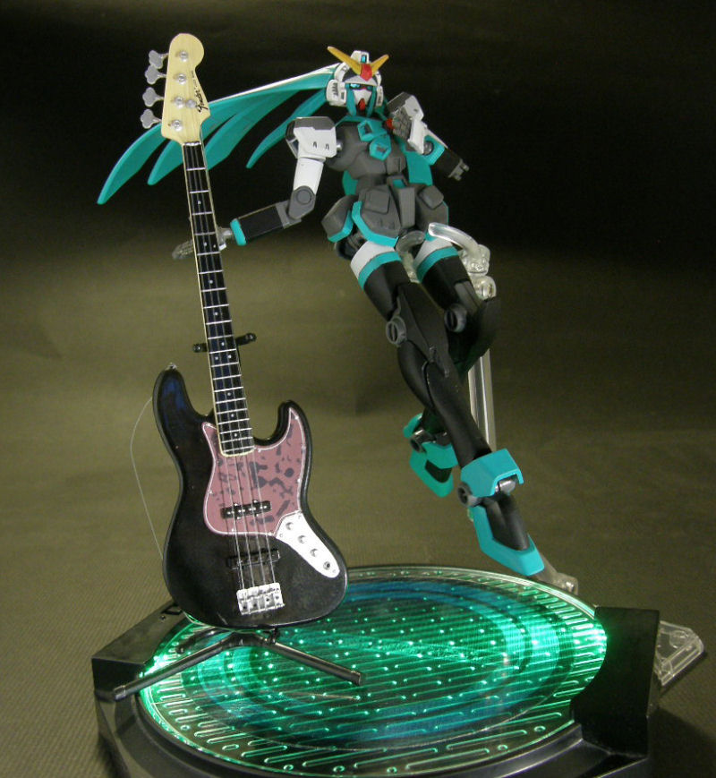 Hatsune Miku Ver.Mobile Suit Gundam Vocal, No.17 Big Size Images ...