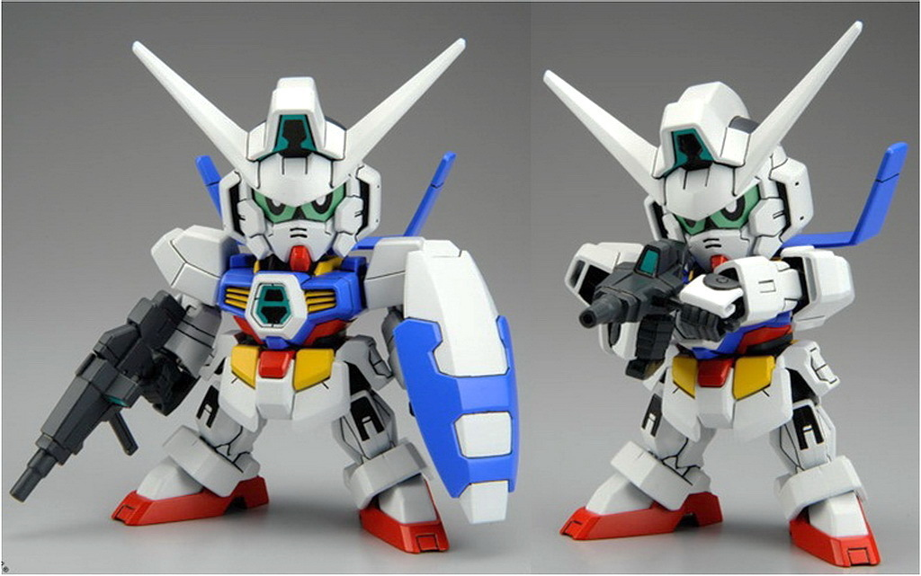 1 Toy For Ages 1 To 7 : Bb senshi sd gundam age update official big size