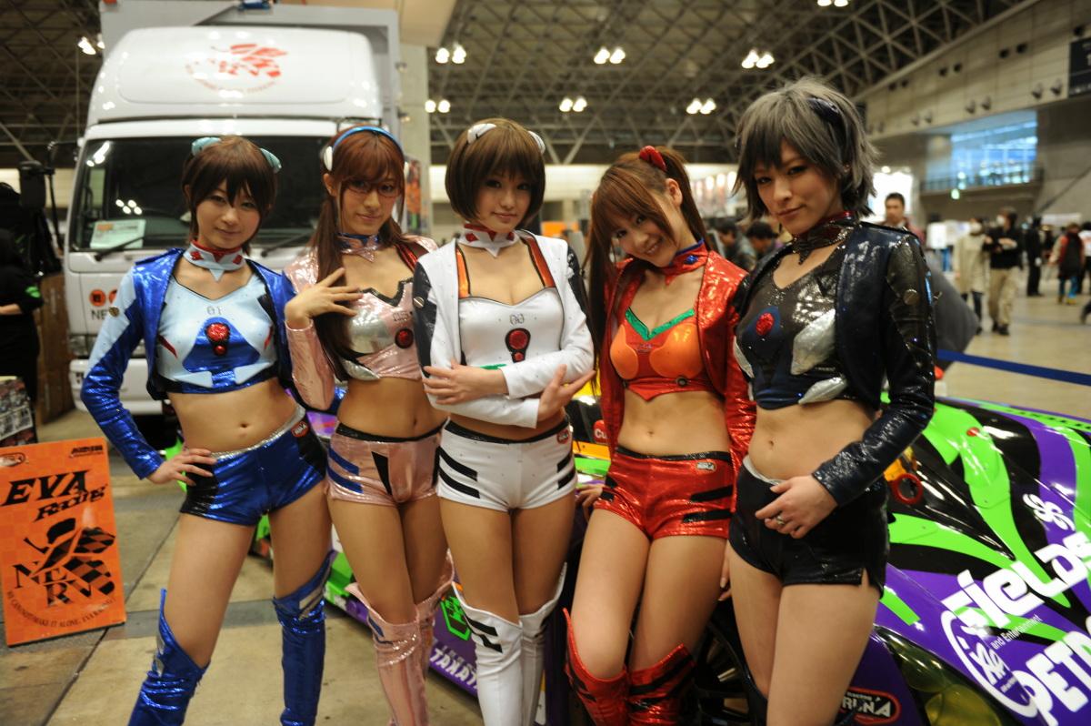 Ayanami rei cosplay slideshow