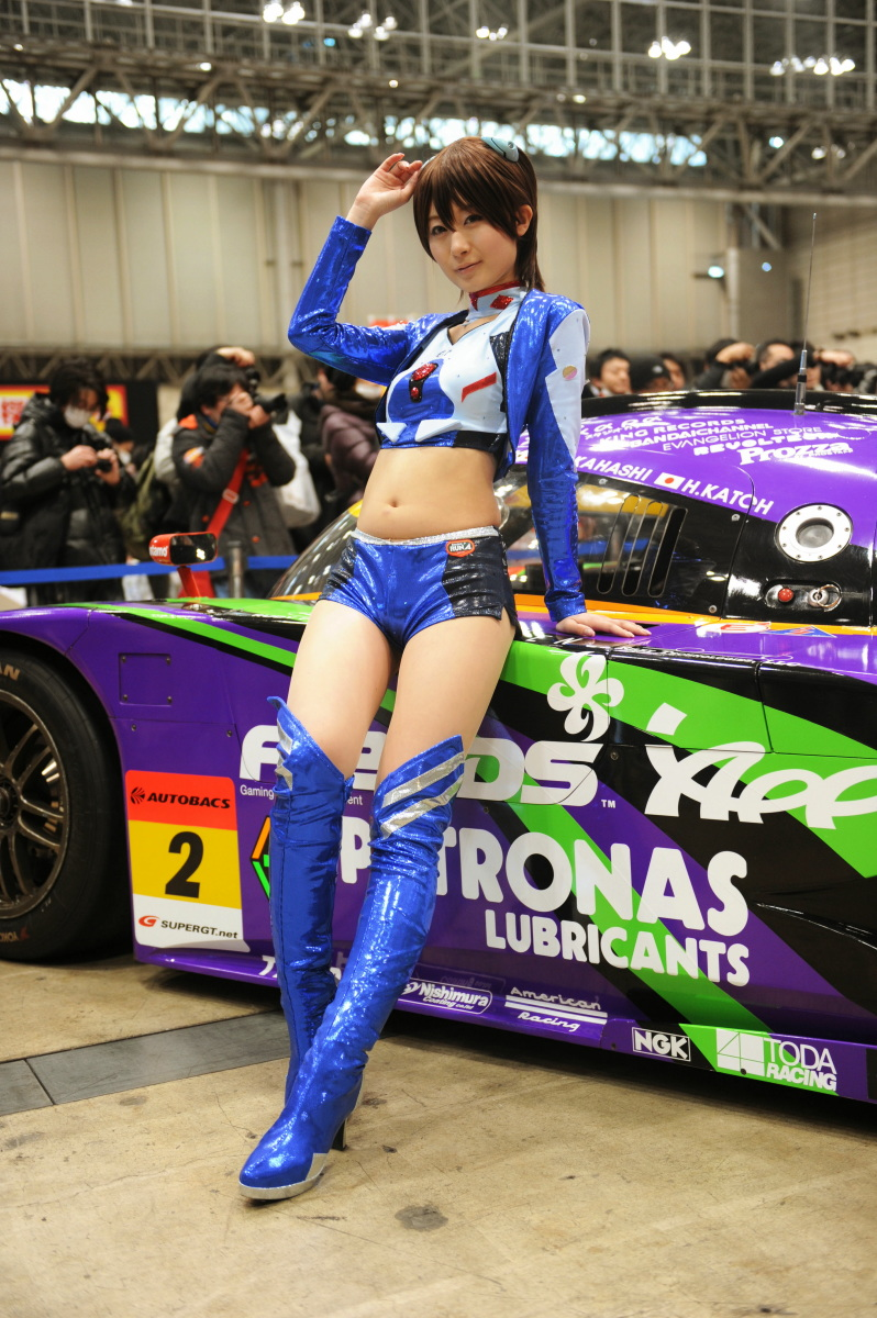 Evangelion Racing Wonder Festival 2012 Winter Racing Cars