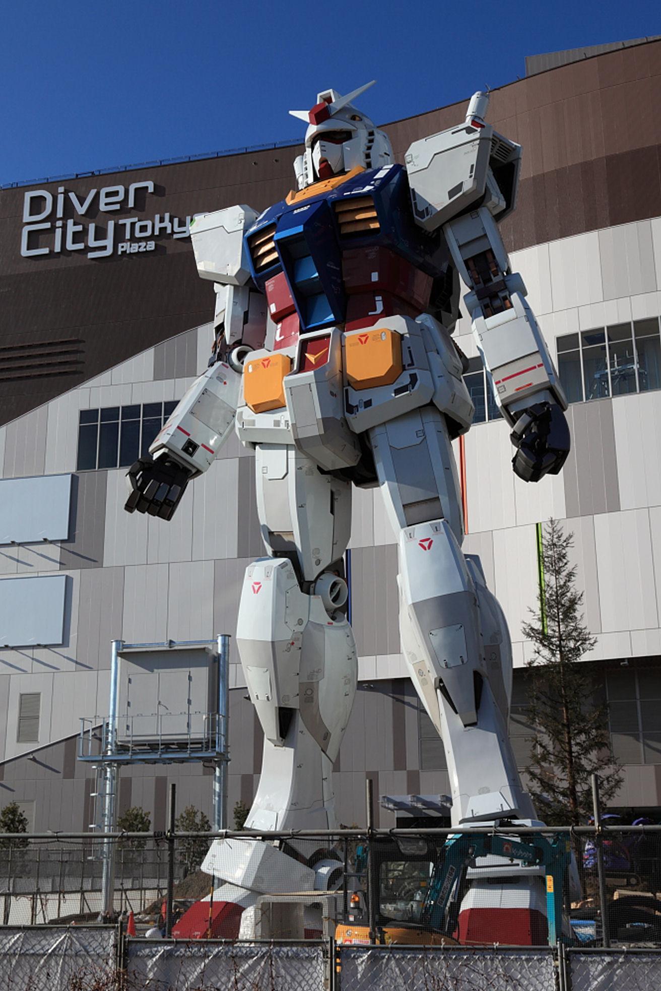 1 1 Life Size Gundam Statue Diver City Tokyo Odaiba