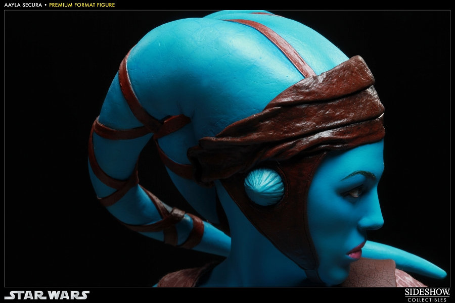 Preview Star Wars Aayla Secura Premium Format Figure Sideshow No 7 Big Size Images Info Gunjap