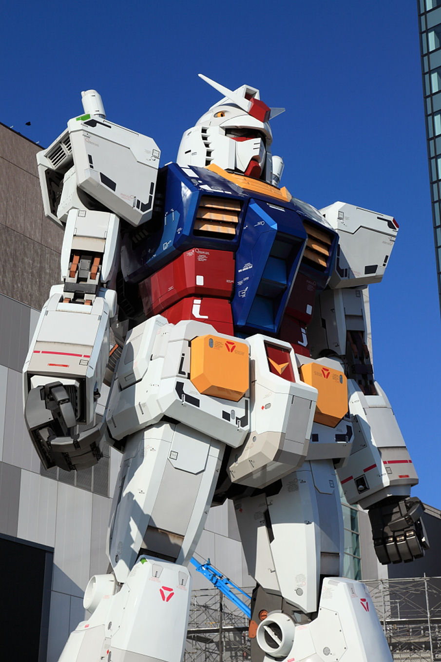 Обои tokyo, gundam. Города foto 16