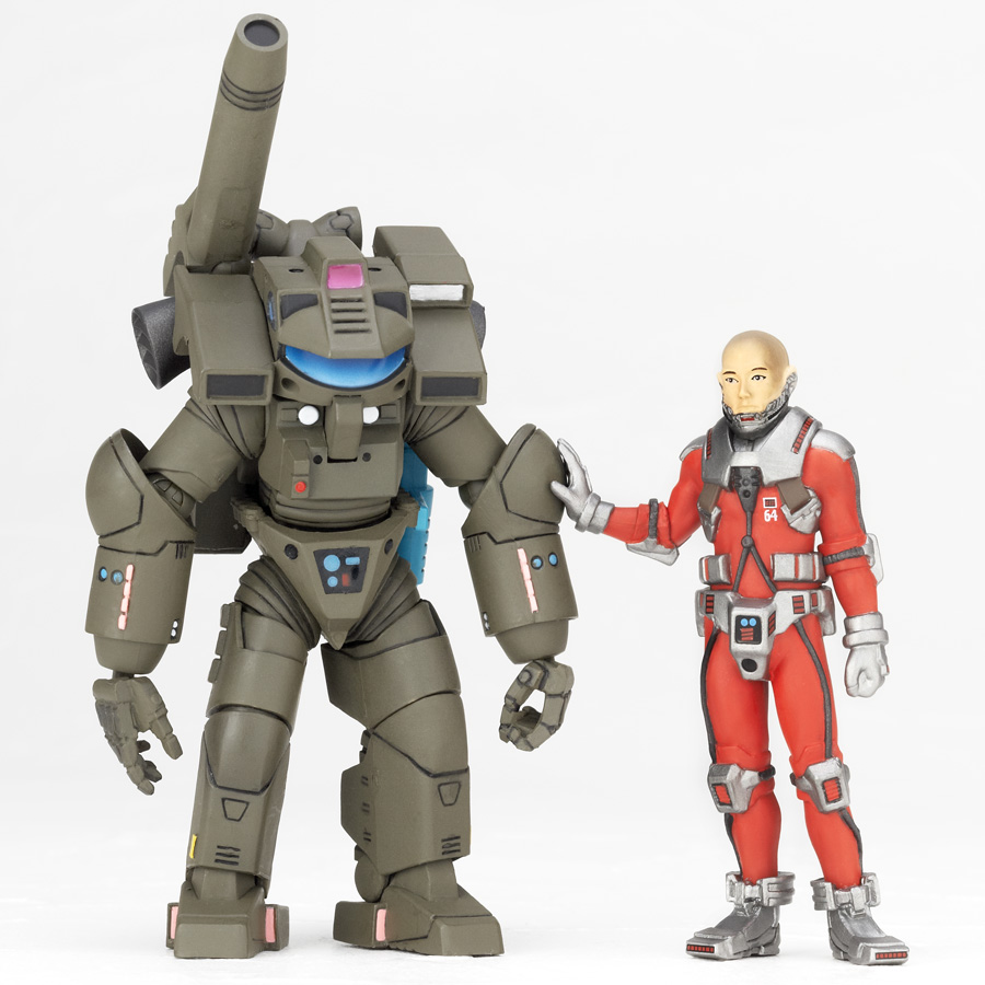First Official Review: Revoltech Sci-Fi No.037 Starship ...