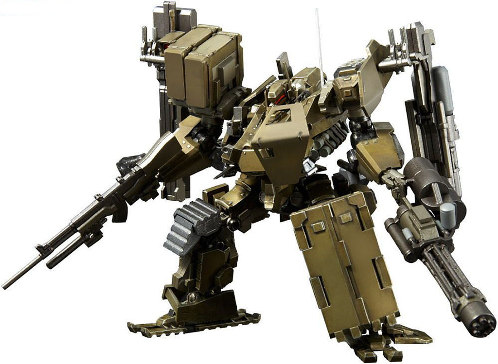 Super Robot Chogokin Armored Core V UCR-10/A: a New Wallpaper Size Image, Info, Link