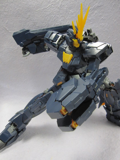 Kit Review Mg 1 100 Rx 0 Unicorn Gundam 02 Banshee No 13 Big Size