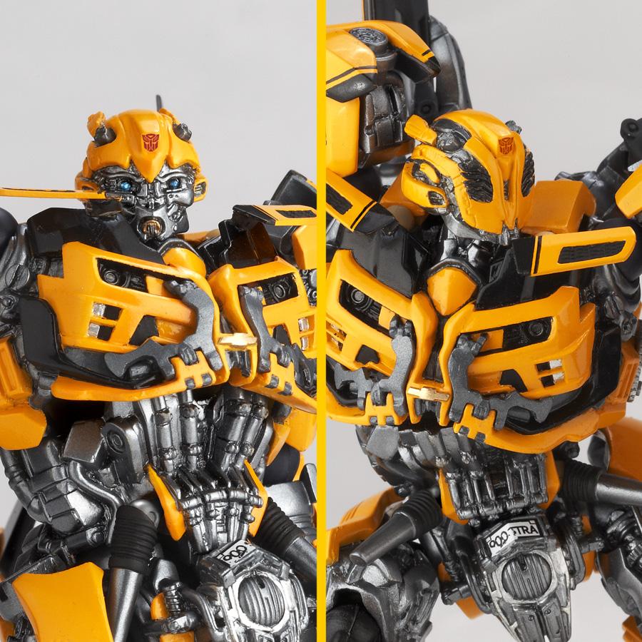 Sci Fi Transformer : First official review revoltech sci fi no bumblebee