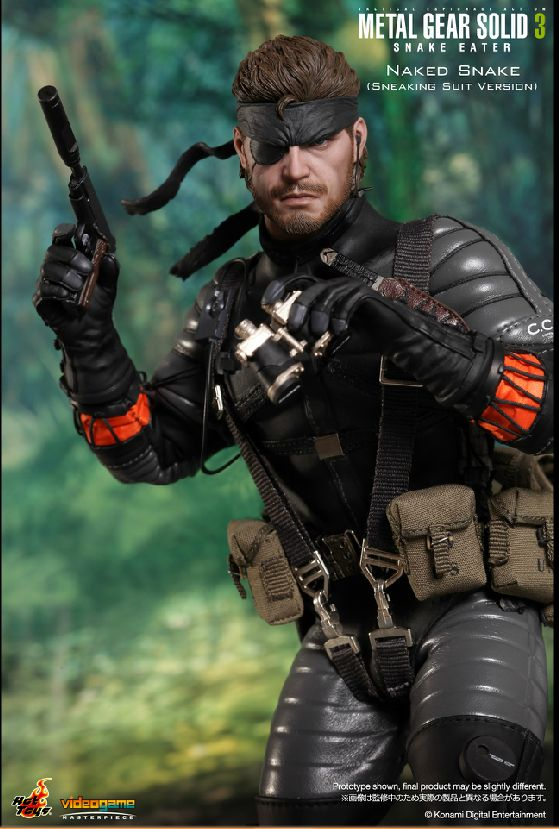 Hot Toys Video Game Masterpiece Metal Gear Solid 3 Snake