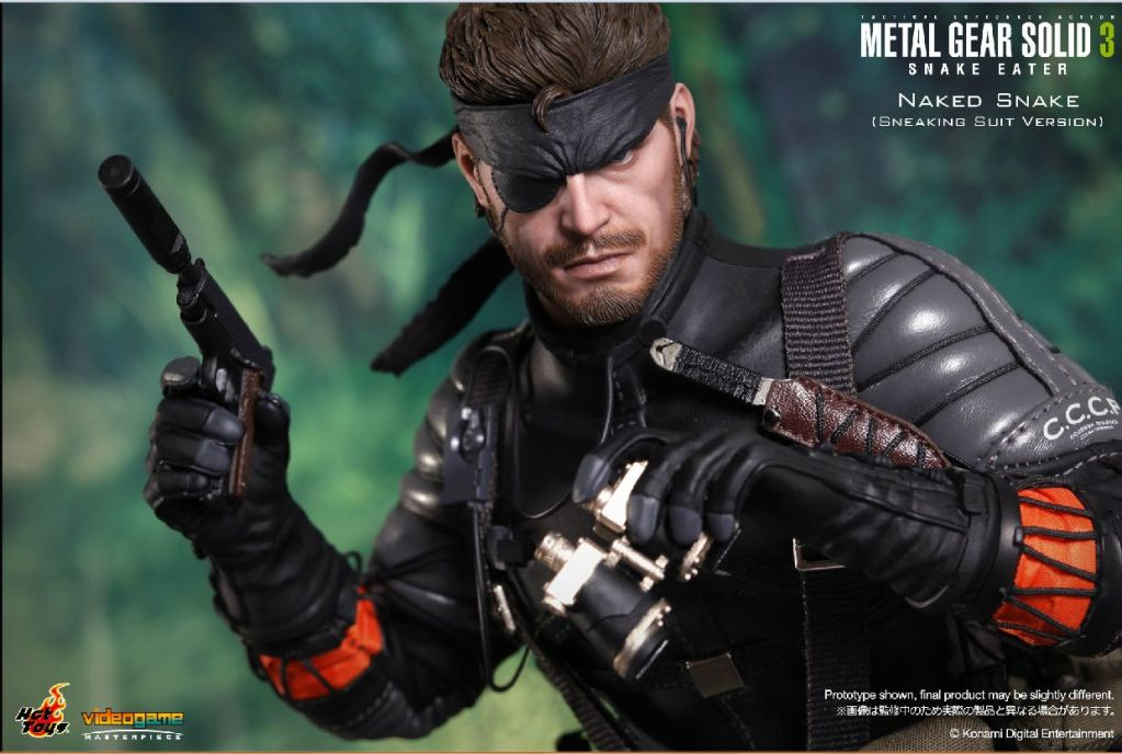 Metal Gear Solid 3 Snake Eater Video Game Masterpiece 1/6