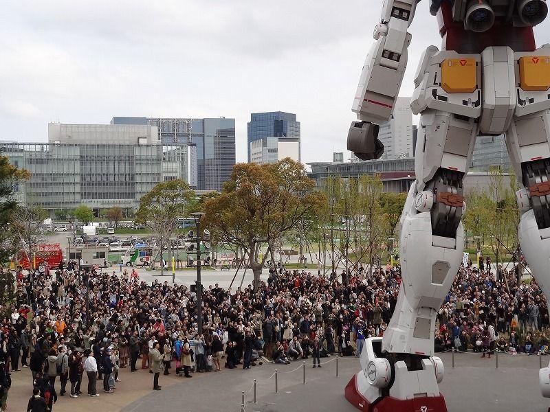 Life Size Gundam @ Diver City & Gundam Front Tokyo Event: NEW Photoreport No.26 Big Size Images