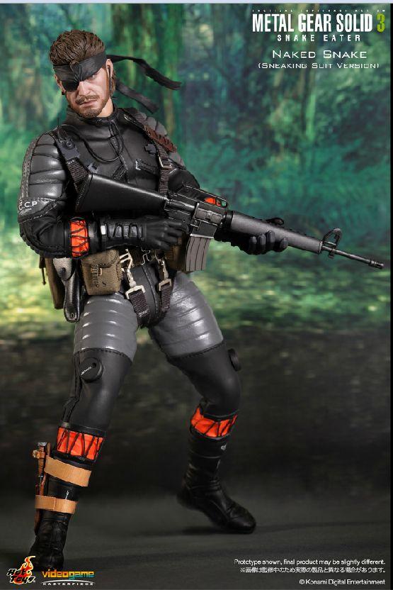 Hot Toys: Metal Gear Solid 3 Snake Eater - Naked Snake
