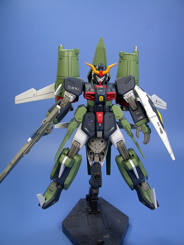 HG 1/144 ZGMF-X24S Chaos Gundam: Assembled/Painted. Big ...