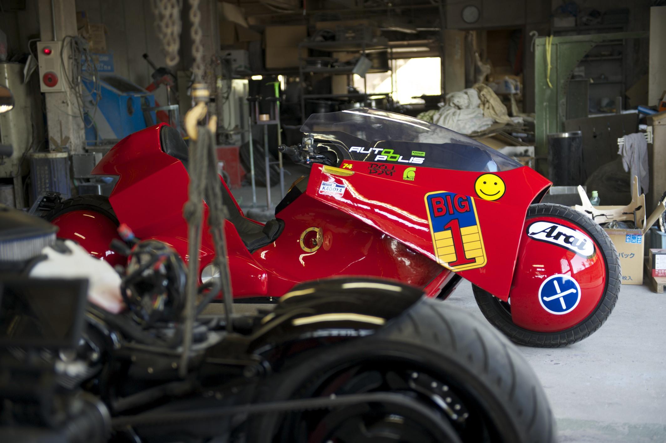 Akira S Kaneda Bike Goes On Road Trip Throughout Japan Info