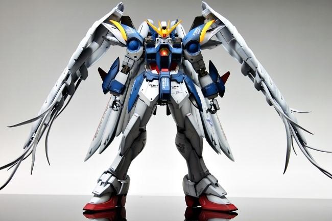 Pg 1 60 Wing Gundam Zero Custom Assembled Painted No 12