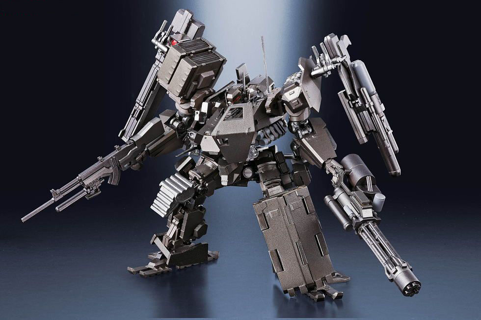 Super Robot Chogokin Armored Core V UCR-10/A: New Official Big Size Images(some Large only), Links & Info