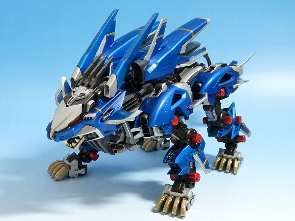 The gallery for -->... Zoids Liger Forms