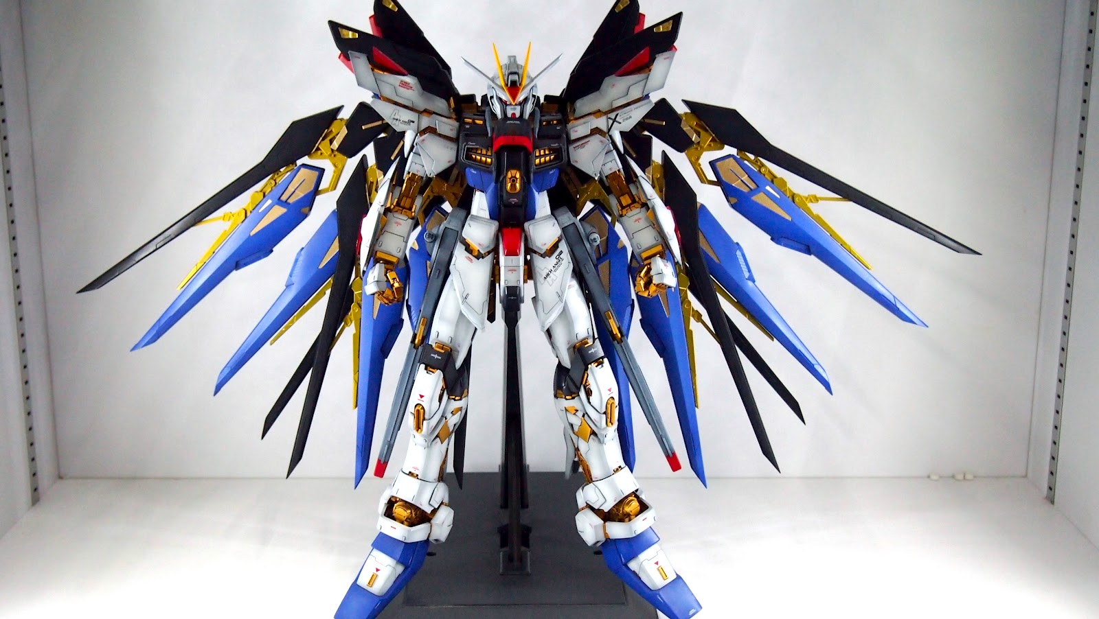 G-Work of The Day: PG 1/60 ZGMF-X20A Strike Freedom Gundam ...