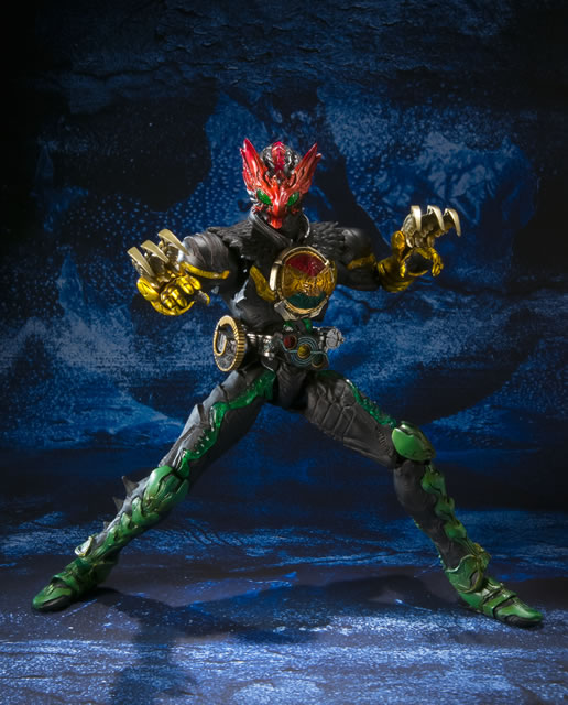 S I C  Vol 64 Kamen Rider OOO Tatoba Combo: Large Official Images