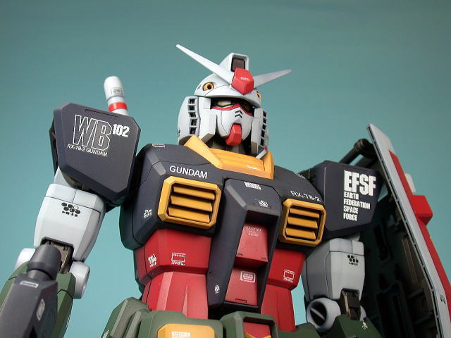 Pg 1 60 Rx 78 2 Gundam Real Type Color Ver Large Images