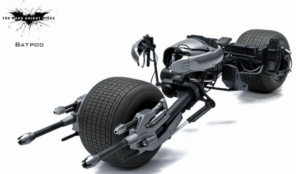 The dark knight batpod toy - photo#3