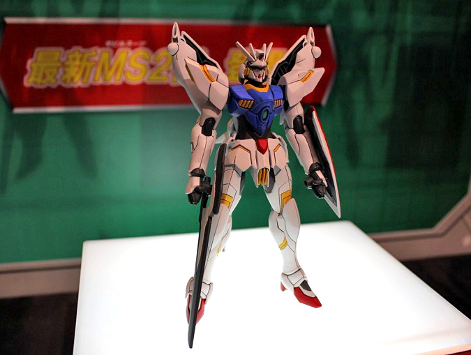 AG 1/144 Gundam Legilis: Preview Large Images (Assembled Gunpla) + Official Mecha Design, Info