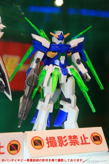 AG 1/144 Gundam AGE-FX: Preview Large Images (Assembled Gunpla) & Info