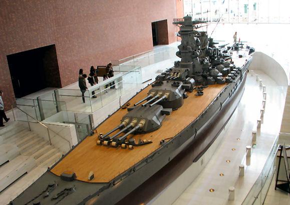 Yamato Museum: 1/10 scale Battleship Yamato Photoreview No