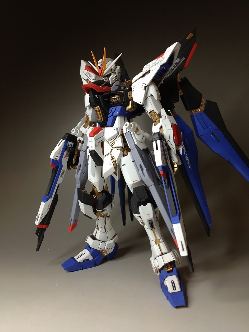 MG 1/100 ZGMX-X20A Strike Freedom Gundam: Remodeled. Many ...