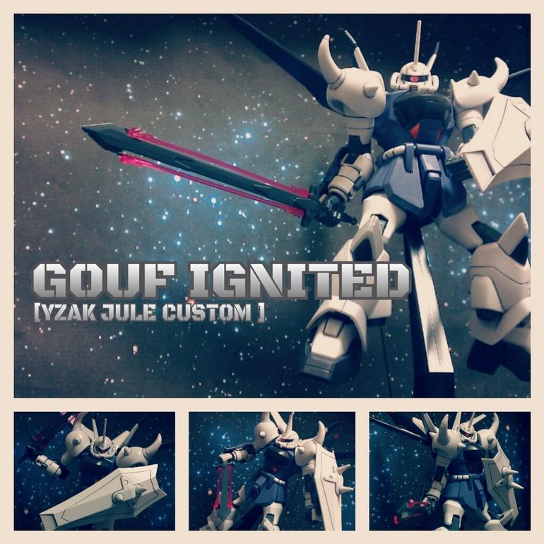 1/100 Gouf Ignited Yzak Jule Custom: Big Size Images | GUNJAP