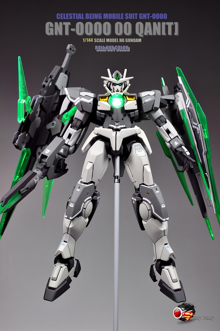 1 144 Gnt 0000 Gundam 00 Qan T Roll Out Color Improved
