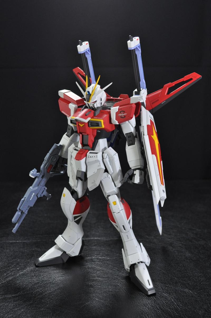 Sword Impulse Gundam Assembled Painted Review Big Size Images Gunjap