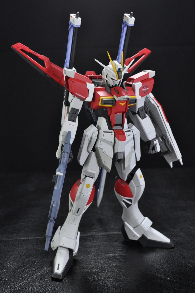 Mg 1 100 Sword Impulse Gundam Assembled Painted
